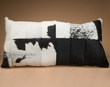 """Genuine Patchwork Cowhide Pillow 34""""  (p54)"""