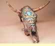 Genuine Southwestern Steer Skull -Native  (s11)