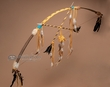 "Gold American Indian Bow & Arrow 47"" -Good Medicine  (b9)"