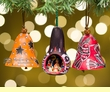 Gourd Southwest Christmas Ornament 3 Set -Andean  (7)