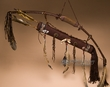 "Navajo Antler Bow & Beaded Spirit Quiver 40"" (b1)"