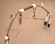 Native American Peace Arrows & Bow Set  (ba5)