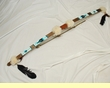 Hand Beaded Native American Style Bow & Arrow - Teepee (6)