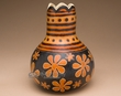 Hand Carved Andean Indian Gourd Vase -  (3)