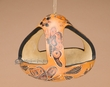 Hand Carved Natural Gourd Bird Feeder -Andean Indian  (2)