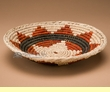 "Hand Coiled Basket 7.75""  (a4)"