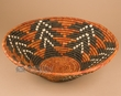 "Hand Coiled Navajo Style Basket 14""x4.5"" (b73)"