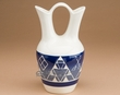 "Sioux Indian Wedding Vase 8.25"" -Oglala Blue  (p218)"