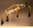 "American Indian Bow & Arrow Set 42"" -Buckskin  (10)"