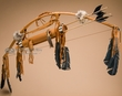 "American Indian Bow & Choker Quiver 42"" -Rust  (10)"