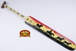 "Hand Painted Canoe Paddle 43"" -Mustangs  (c4)"