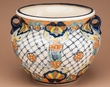 Hand Painted Mexican Talavera Planter 12x9  (p292)