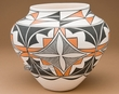 Hand Painted Pueblo Indian Pottery -Acoma