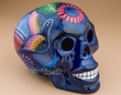 Hand Painted Southwestern Skull -Day Of The Dead  (s16)
