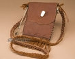 "Hand Stitched Buffalo Hide Medicine Bag 6"" -Sioux"