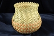 "Hand Woven Tarahumara Indian Basket  5.5"" x 5.5""  (54)"