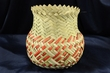 Hand Woven Tarahumara Indian Basket 5.5x6.5  (62)
