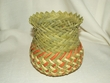 "Hand Woven Tarahumara Indian Basket  6""x9""  (s)"
