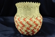 Hand Woven Tarahumara Indian Basket  6x7  (58)