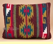 Hand Woven Wool Zapotec Indian Pillows 12x16 (e)