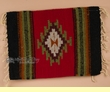 """Hand Woven Zapotec Place Mat  16""""x20"""" (a)"""