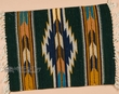"""Hand Woven Zapotec Place Mat  16""""x20"""" (ag)"""