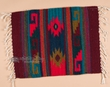 "Hand Woven Zapotec Place Mat  16""x20"" (be)"