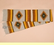"""Hand Woven Zapotec Table Runner 10""""x80"""" (a18)"""