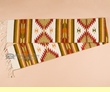 "Hand Woven Zapotec Table Runner 10""x80"" (a6)"