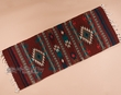 "Hand Woven Zapotec Table Runner 15""x40"" (b2)"