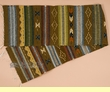 """Hand Woven Zapotec Table Runner 15""""x80"""" (a21)"""
