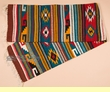 "Hand Woven Zapotec Table Runner 15""x80"" (a60)"