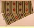 "Hand Woven Zapotec Table Runner 15""x80"" (a63)"