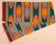 "Hand Woven Zapotec Table Runner 15""x80"" (a68)"