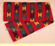 """Hand Woven Zapotec Table Runner 15""""x80"""" (a70)"""