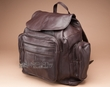 Handcrafted Genuine Leather Back Pack -Brown  (bp7)