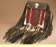 "Handcrafted Pueblo Indian Medicine Side Bag 7.5"" (b316)"