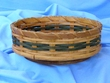"Handmade Amish Basket 10"" -Lazy Susan Basket  (EM24)"