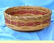 "Handmade Amish Basket 10"" -Lazy Susan Basket  (EM25)"