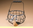 Rustic Country Decorative Basket -Egg Basket  (em30)