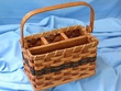 Handmade Amish Basket -Table Organizer Basket  (EM20)