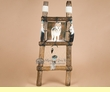 "Hide Rack Dreamcatcher Log Ladder 36"" -Wolf  (ldc4)"