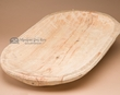 Tarahumara Indian Wooden Dough Bowl Platter 14x23 (bb)