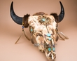 Indian Dreamcatcher Buffalo Skull 24x28 -Creek  (ps91)