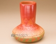 "Indian Pottery Etched Clay Pottery Vase 5"" -Navajo  (p337)"