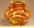 "Indian Style Olla Basket 7.75"" (a33)"
