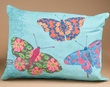 Indoor Outdoor Climaweave Pillow 18x13 -Butterflies  (p37)