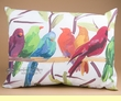 Outdoor Climaweave Pillow 24x18 -Flocked Together  (p35)