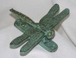 Iron Art Faux Copper Door Knocker -Dragonfly