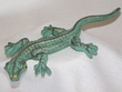 Iron Art Faux Copper Lizard 9""
